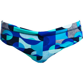 Funky Trunks Classic Slip de bain Homme, sea spray